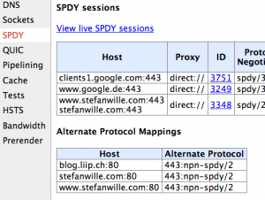 Alternate Protocol Mappings in Google Chrome